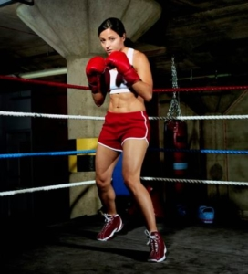 Boxing Stance Female