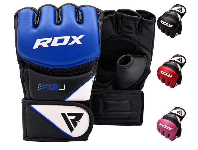 2 RDX MMA Gloves for Grappling Martial Arts Training