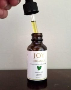 Joy Organics Oil View