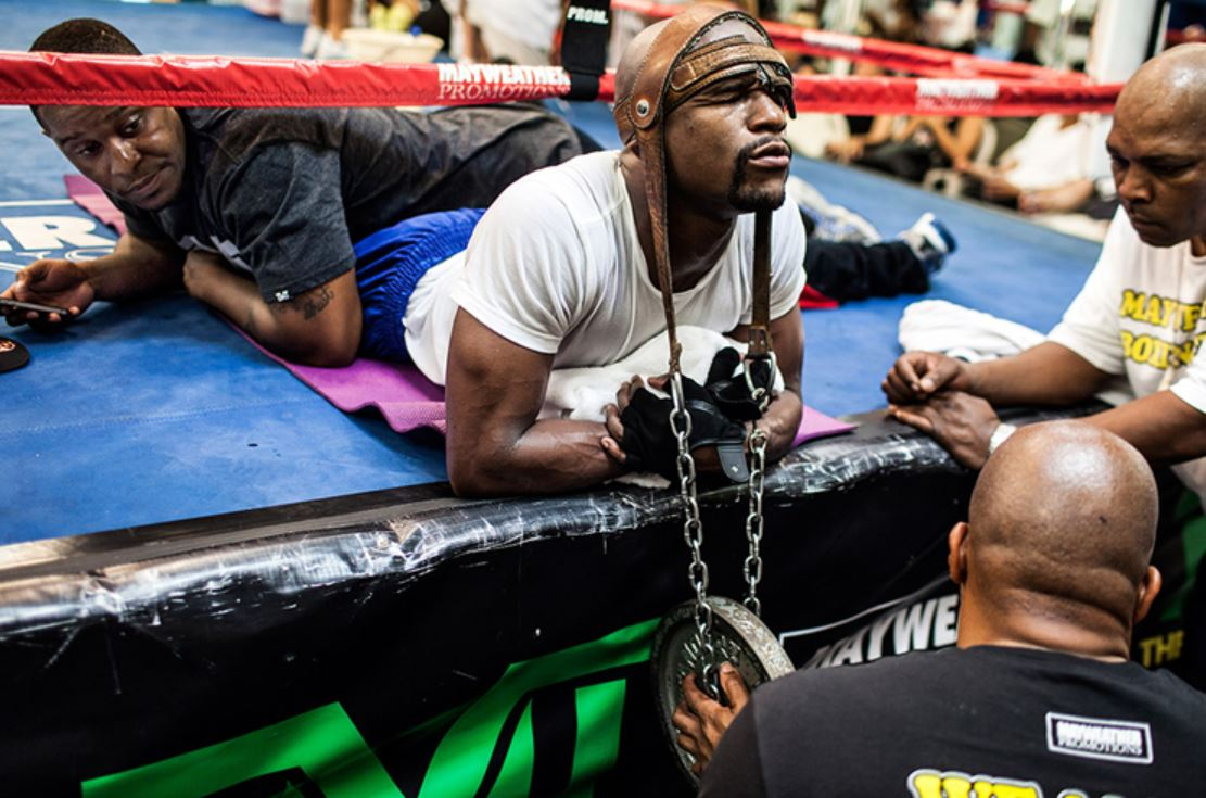 Neck Strengthening Floyd Mayweather