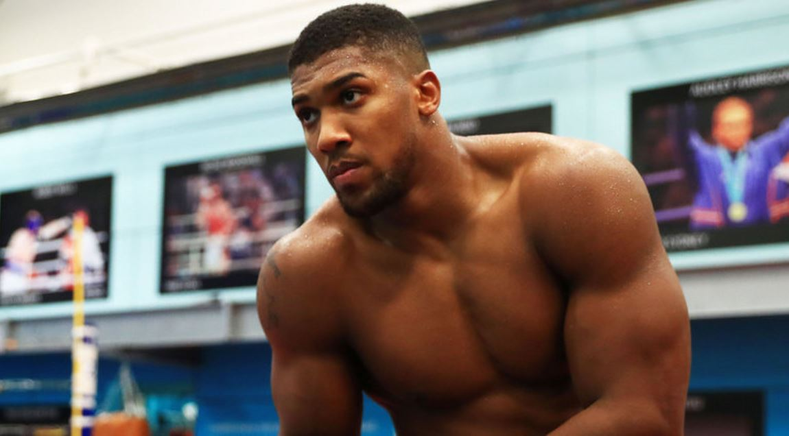 Anthony Joshua Shoulders