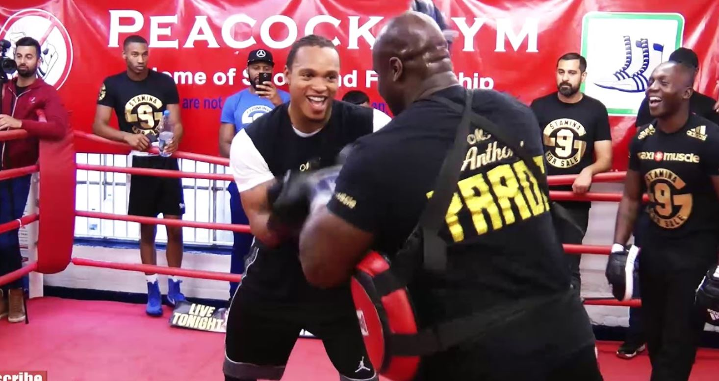 Anthony Yarde Lions In The Camp