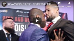 Dubois Shoves Joyce - Your Gonna Get Wrecked - Press Conference Highlights & Ticket Info
