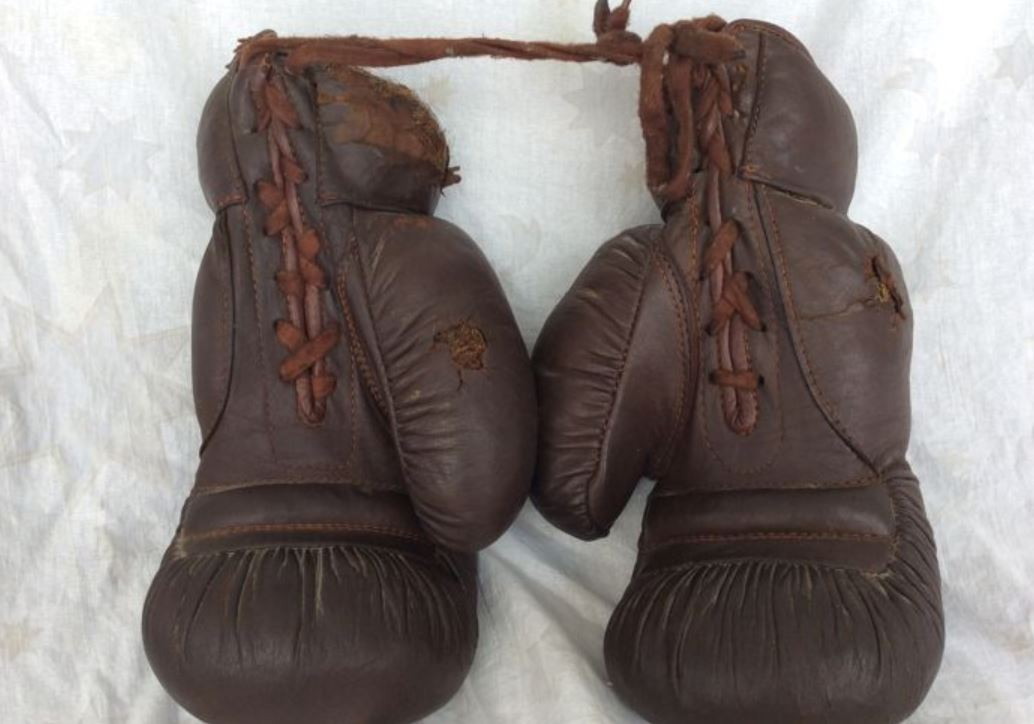 Early 1900's boxing Gloves