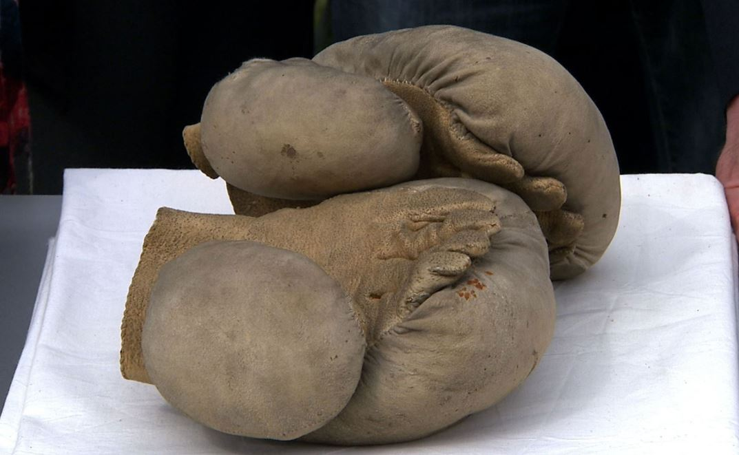 Early Boxing Gloves