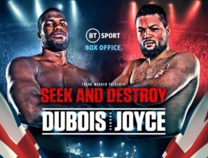 Dubois V Joyce Announced For April 11th At The 02 Arena In London - Official Trailer & Preview