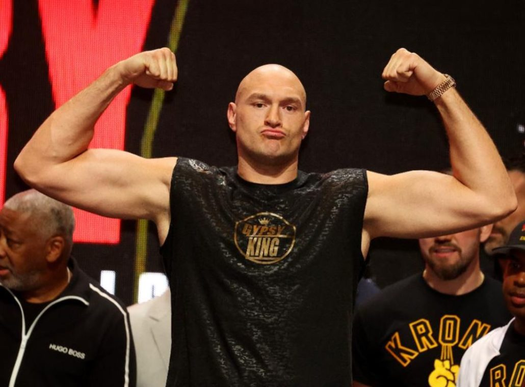 Fury Weigh In