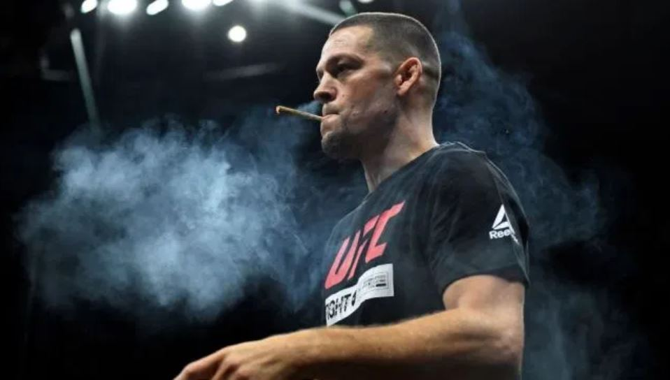 Nate Diaz Cbd Smoking