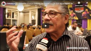 Legendary Cutman Stitch Duran On Chances Of Cutting Opening And Working With Fury