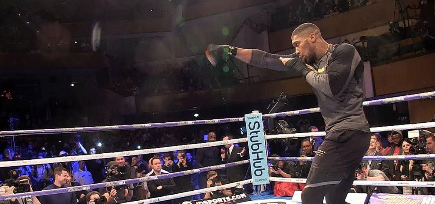 AJ Shadow Boxing