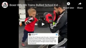 Boxer Billy Dib Trains Bullied Schoolkid Quaden Bayles - Stays True To His Word