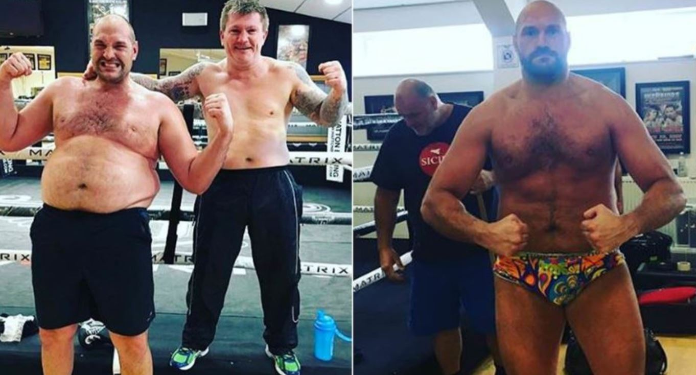 Boxing Weight Loss Fury