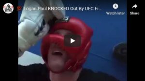 WATCH: Logan Paul KNOCKED Out By UFC Fighter Paulo Costa