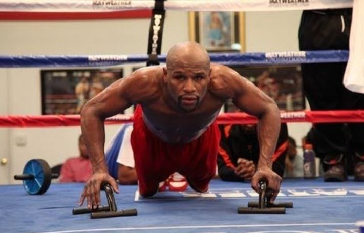Mayweather Weighted Push Up