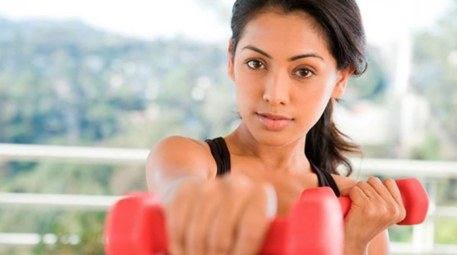 Shadow Boxing With Weights For Fat Loss