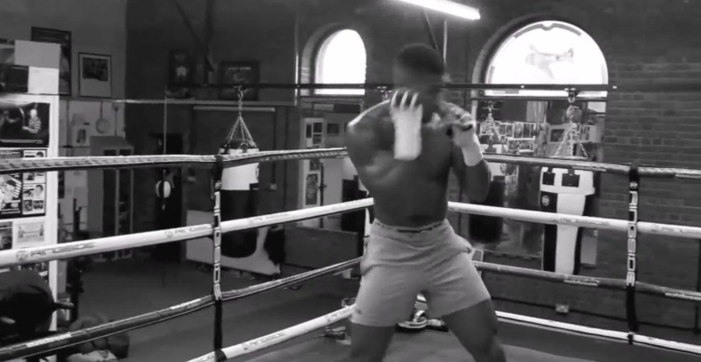Joshua Shadow Boxing